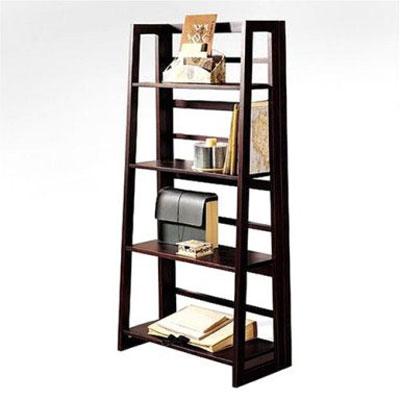 Dolce Dark Walnut Folding Bookcase