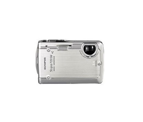 Câmera Digital 7.0 Stylus 720 SW Olympus - À prova d`água* - LCD