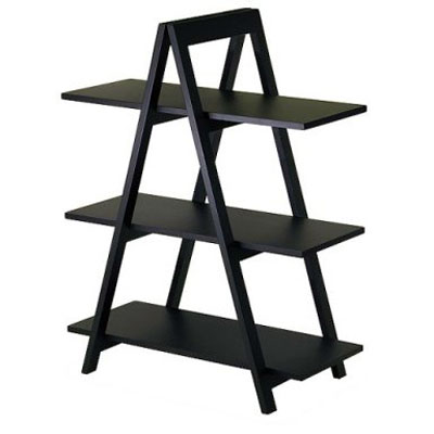 3-Tier A-Frame Bookshelf